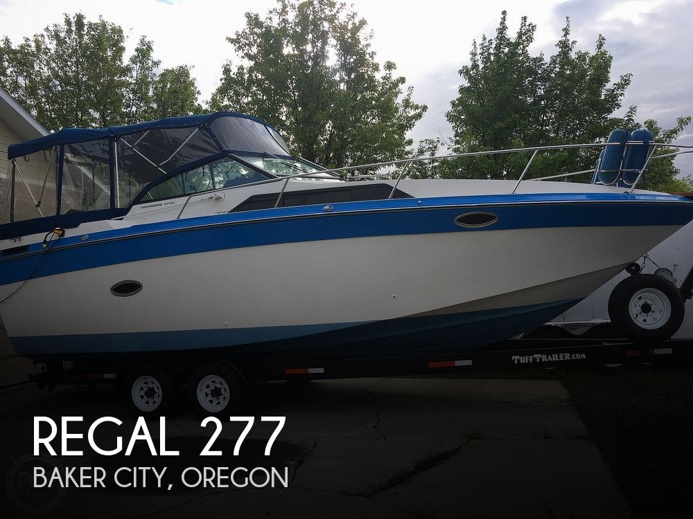 1987 Regal boat for sale, model of the boat is Commodore 277xl & Image # 1 of 26