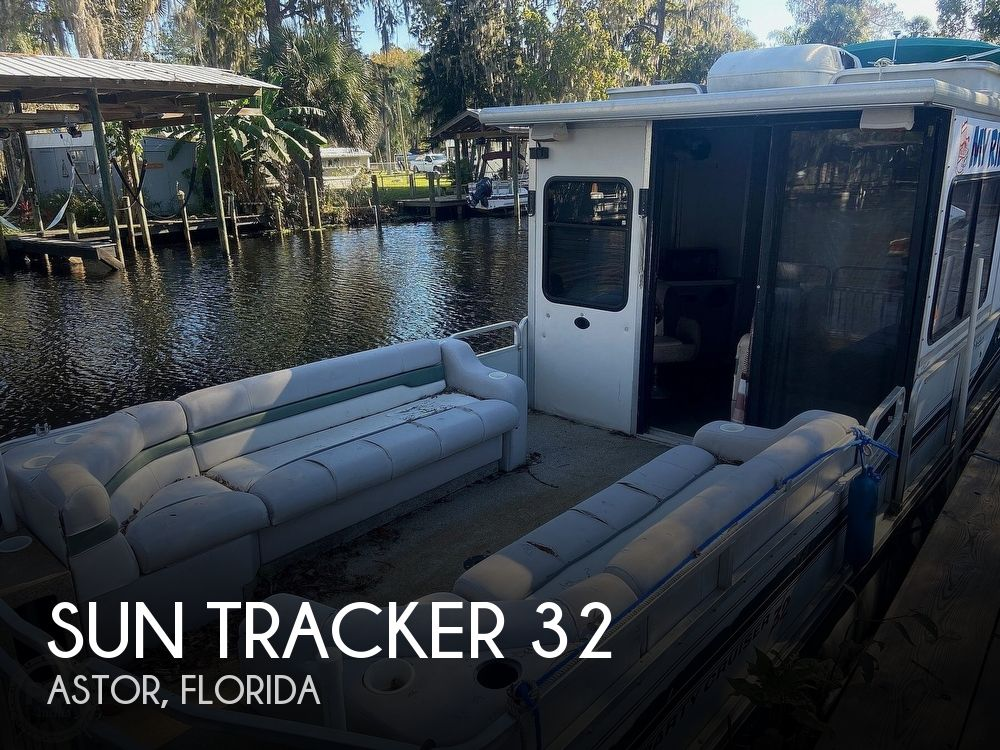 Used Sun Tracker Houseboats For Sale in Florida by owner | 2000 Sun Tracker 32
