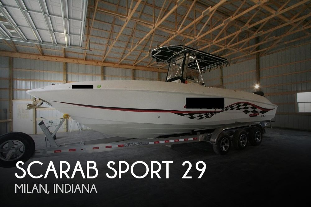 2002 Scarab boat for sale, model of the boat is SPORT 29 & Image # 1 of 40