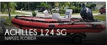 2018 Achilles boat for sale, model of the boat is 124 SG & Image # 1 of 2