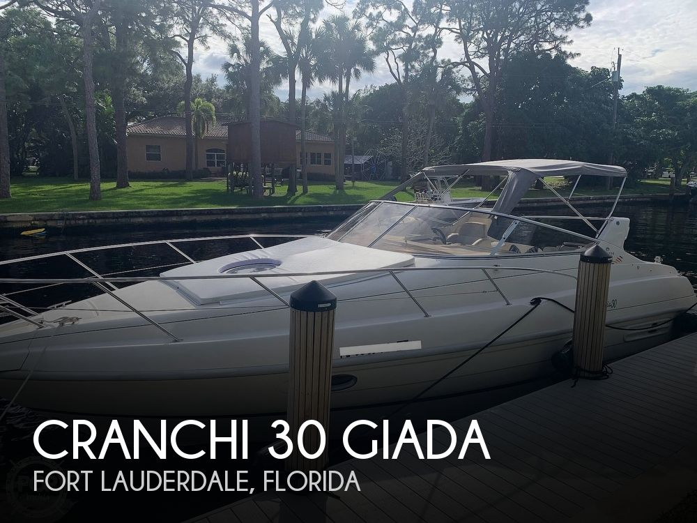 1999 Cranchi boat for sale, model of the boat is 30 Giada & Image # 1 of 40