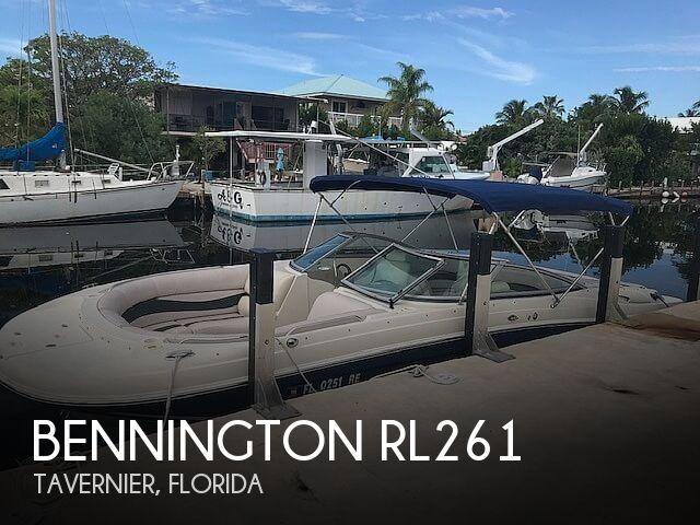 Used Bennington Boats For Sale in Florida by owner | 2005 Bennington RL261