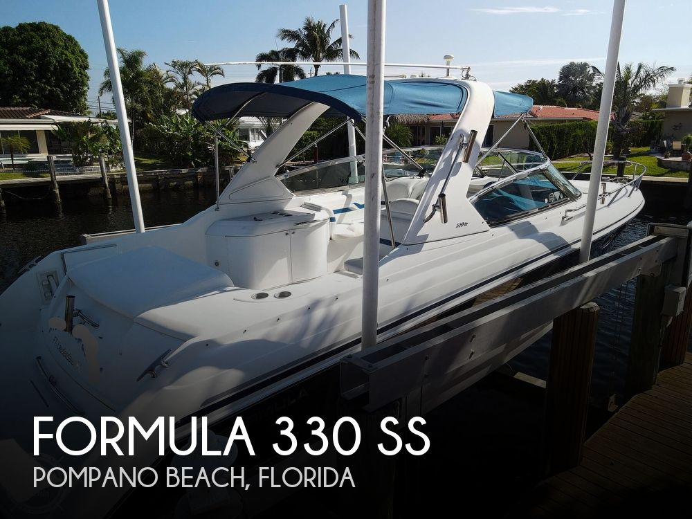 2004 Formula boat for sale, model of the boat is 330 SS & Image # 1 of 40