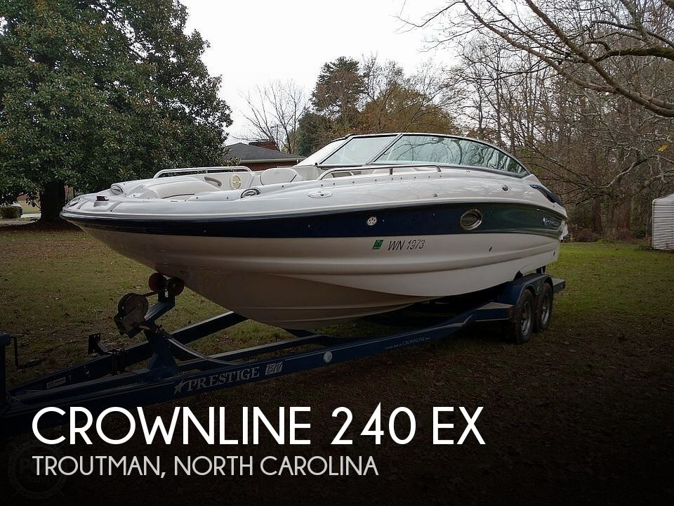 Used Crownline Boats For Sale in North Carolina by owner   2004 Crownline 240 EX