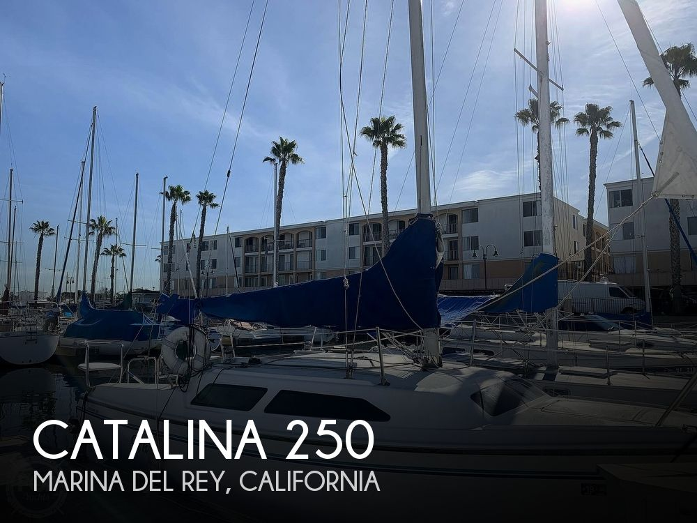 1997 Catalina Yachts boat for sale, model of the boat is 250 & Image # 1 of 40