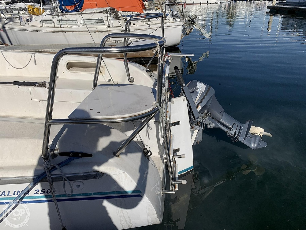 1997 Catalina Yachts boat for sale, model of the boat is 250 & Image # 8 of 40