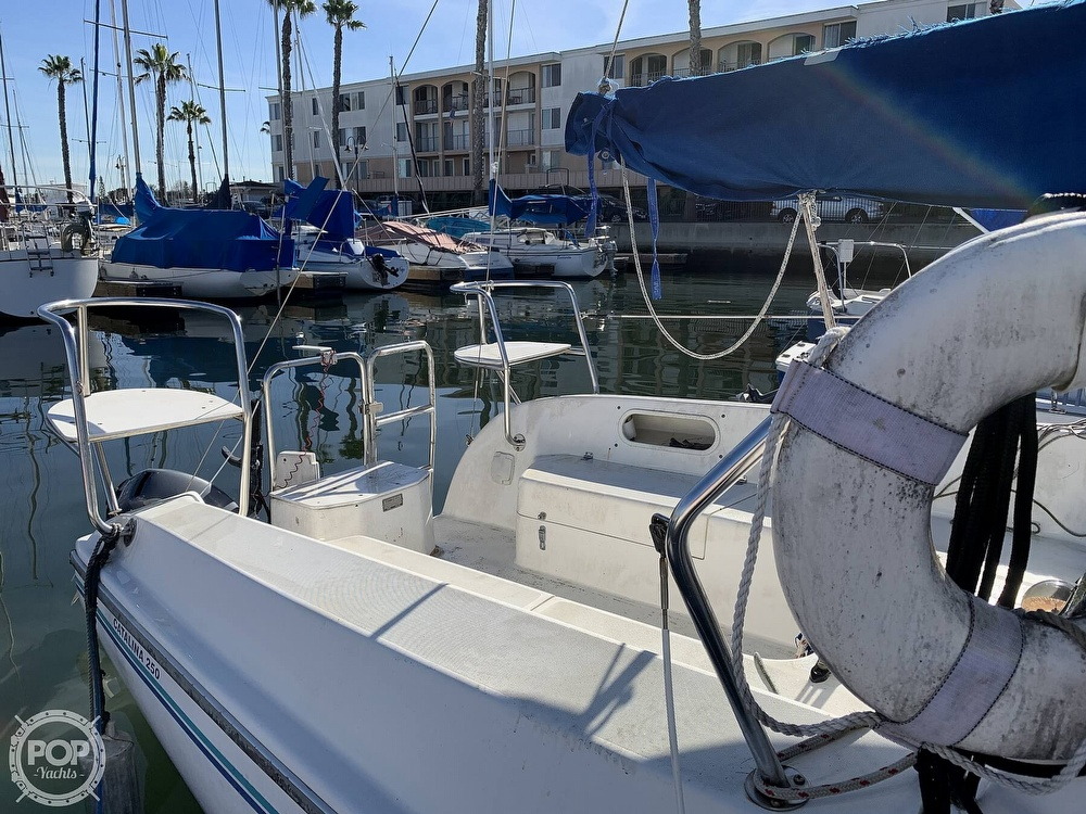 1997 Catalina Yachts boat for sale, model of the boat is 250 & Image # 36 of 40