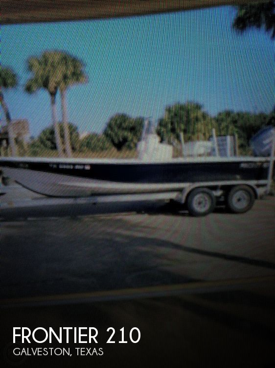 Used Frontier Boats For Sale by owner | 2009 Frontier 210