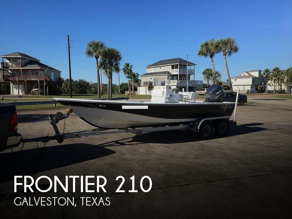 2009 Frontier boat for sale, model of the boat is 210 & Image # 1 of 40