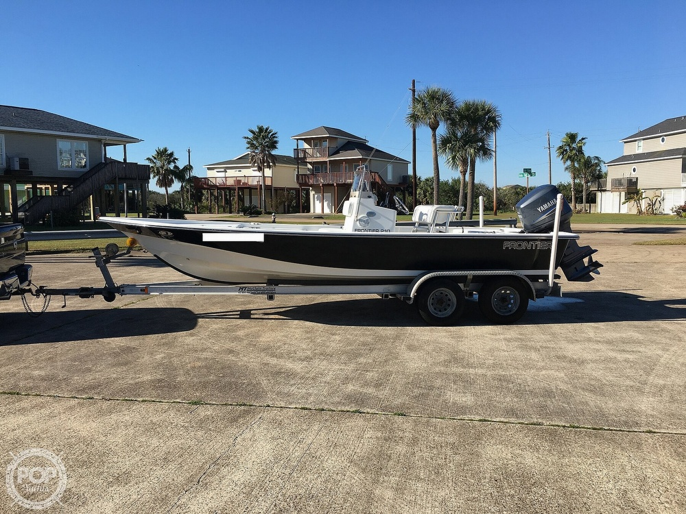 2009 Frontier boat for sale, model of the boat is 210 & Image # 2 of 40