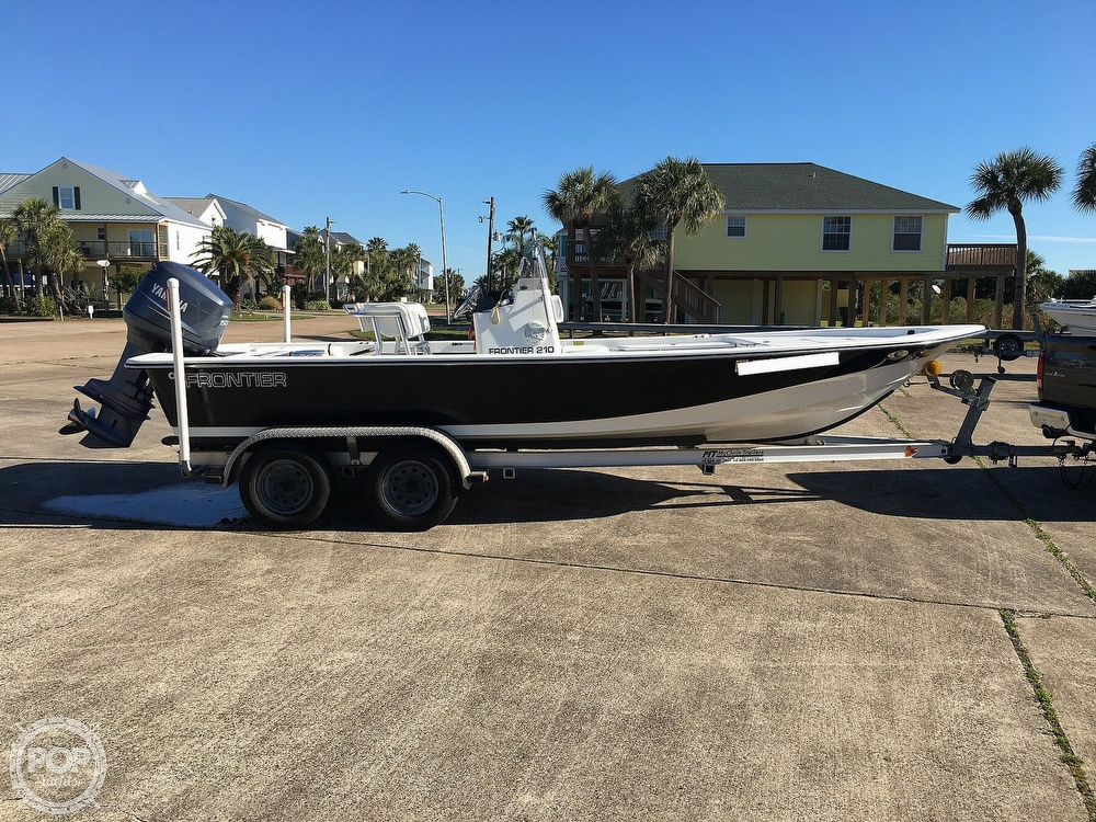 2009 Frontier boat for sale, model of the boat is 210 & Image # 6 of 40