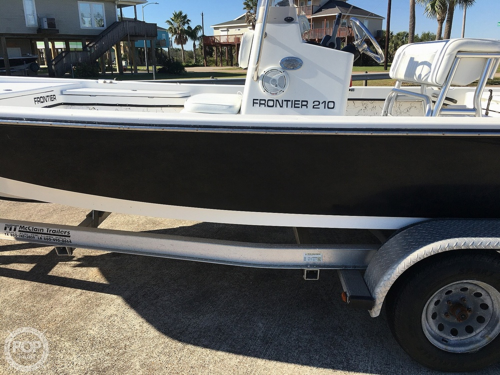 2009 Frontier boat for sale, model of the boat is 210 & Image # 26 of 40