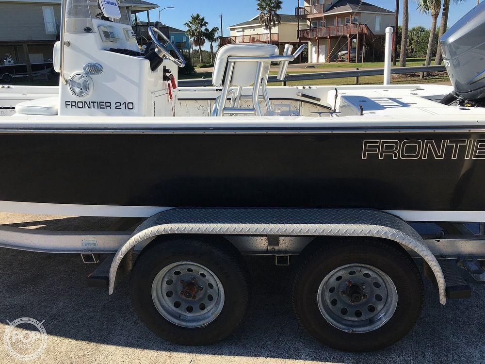 2009 Frontier boat for sale, model of the boat is 210 & Image # 27 of 40
