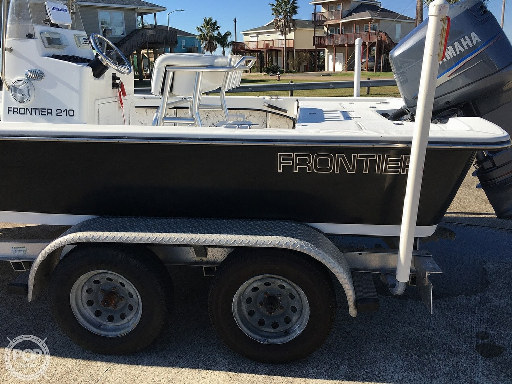 2009 Frontier boat for sale, model of the boat is 210 & Image # 28 of 40