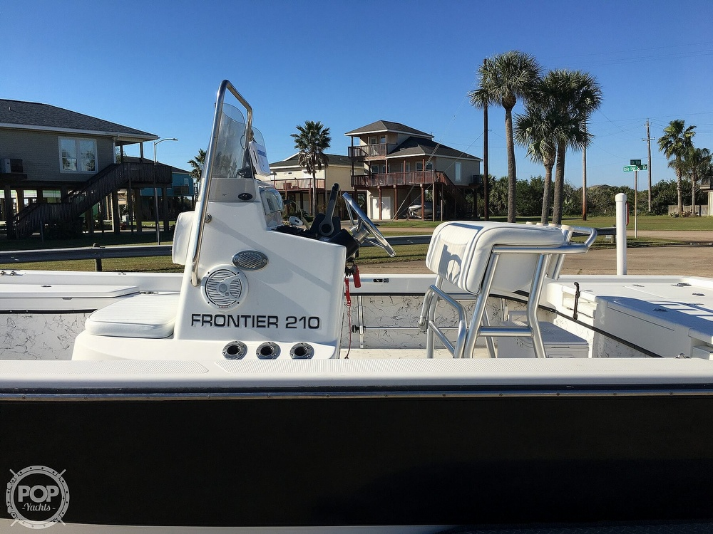 2009 Frontier boat for sale, model of the boat is 210 & Image # 31 of 40