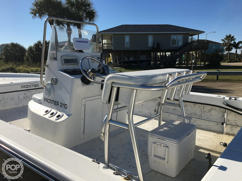 2009 Frontier boat for sale, model of the boat is 210 & Image # 9 of 40
