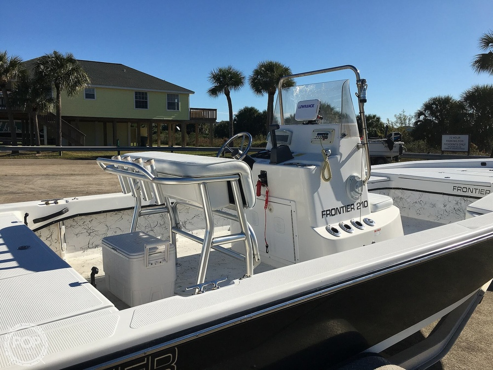 2009 Frontier boat for sale, model of the boat is 210 & Image # 10 of 40