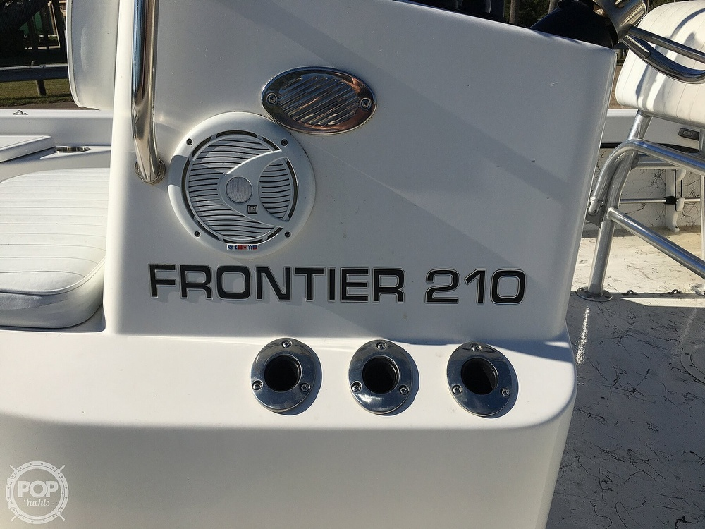 2009 Frontier boat for sale, model of the boat is 210 & Image # 32 of 40
