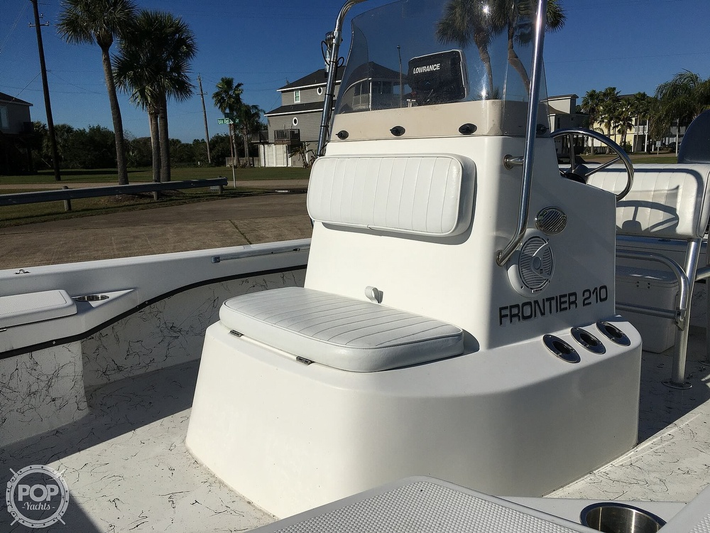 2009 Frontier boat for sale, model of the boat is 210 & Image # 30 of 40