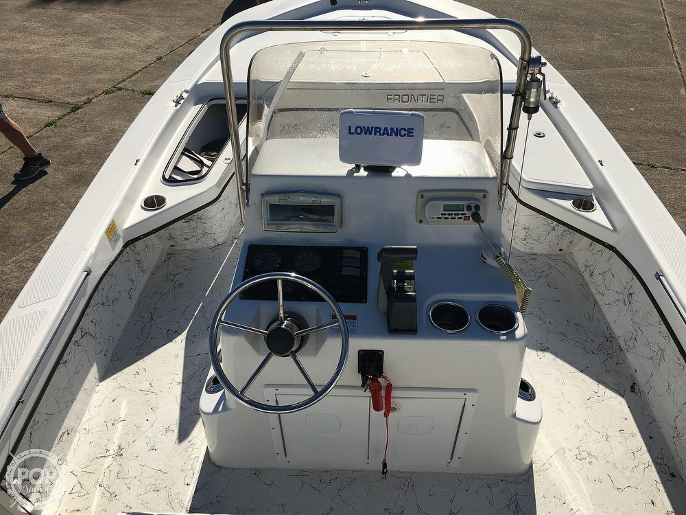 2009 Frontier boat for sale, model of the boat is 210 & Image # 11 of 40