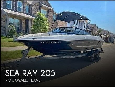 Used Sea Ray Boats For Sale in Texas by owner   2014 Sea Ray 205