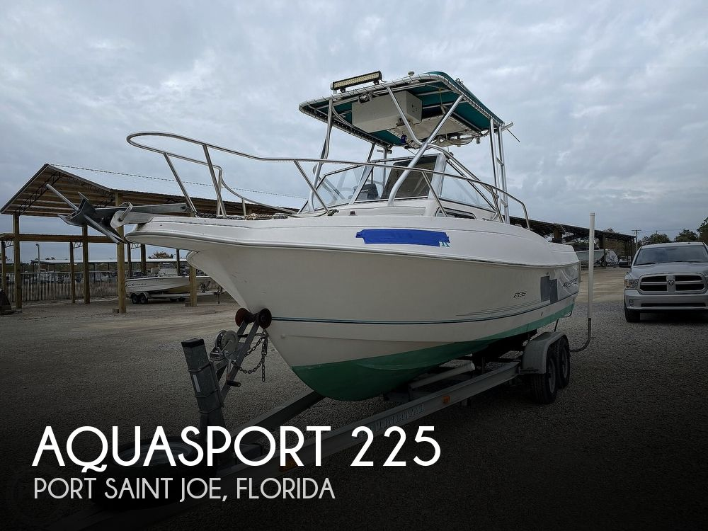 1996 Aquasport boat for sale, model of the boat is 225 Explorer & Image # 1 of 40
