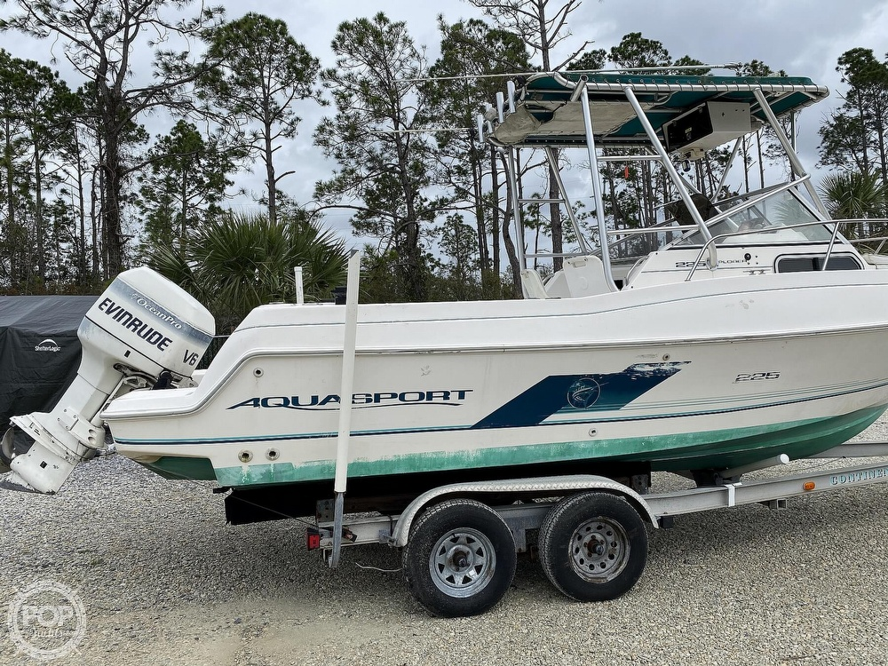1996 Aquasport boat for sale, model of the boat is 225 Explorer & Image # 6 of 40