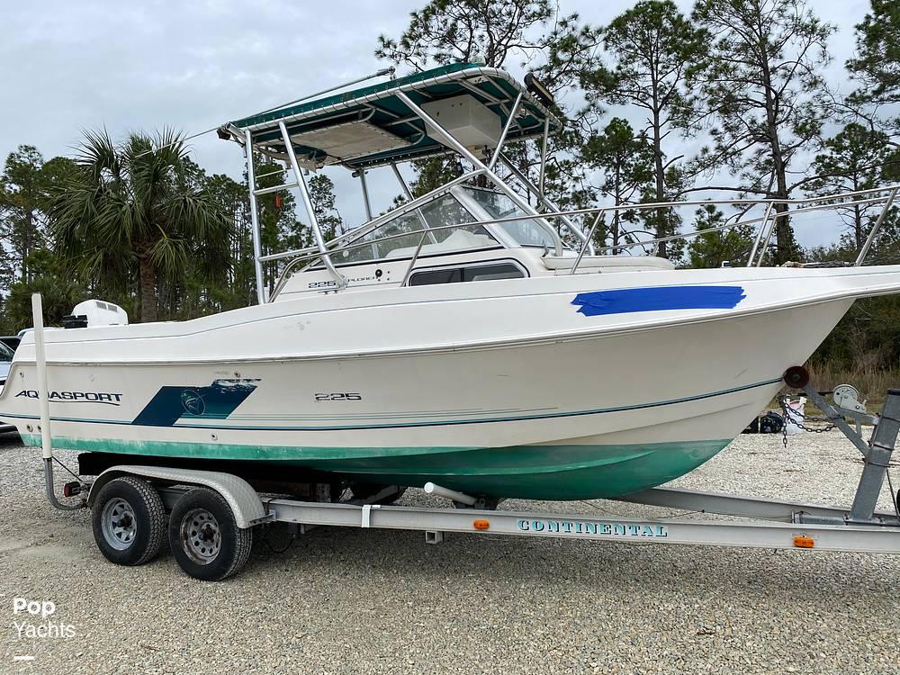 1996 Aquasport boat for sale, model of the boat is 225 Explorer & Image # 7 of 40
