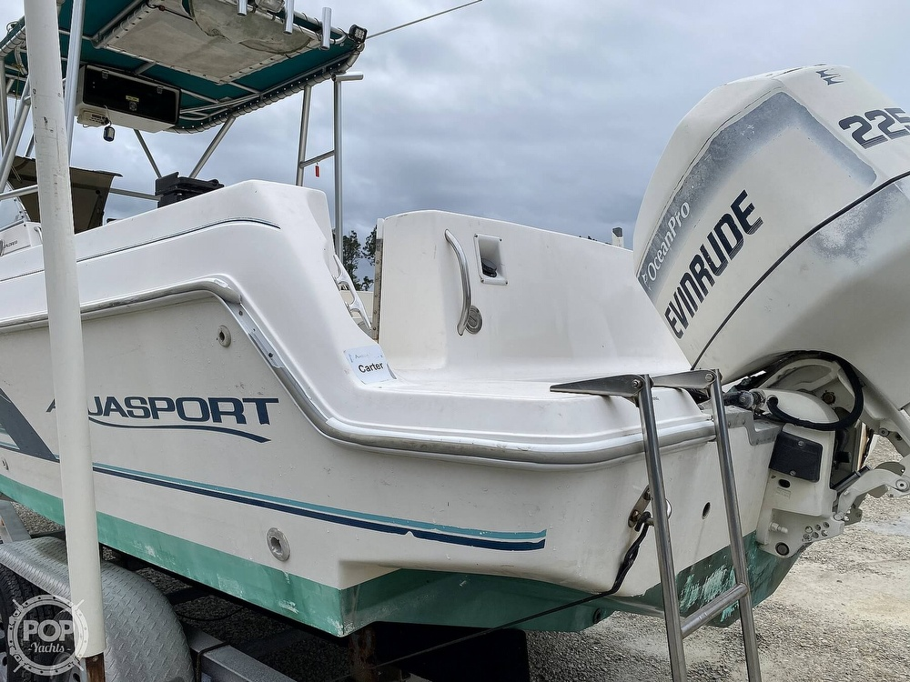 1996 Aquasport boat for sale, model of the boat is 225 Explorer & Image # 18 of 40