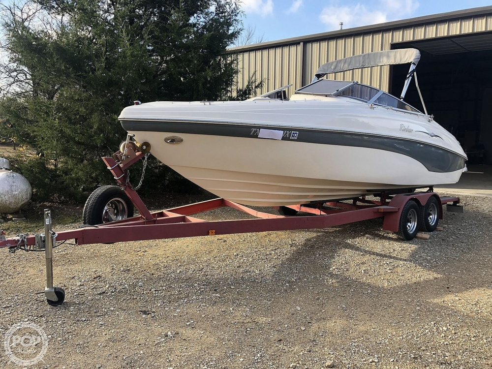 2003 Rinker boat for sale, model of the boat is Captiva 232 & Image # 12 of 40