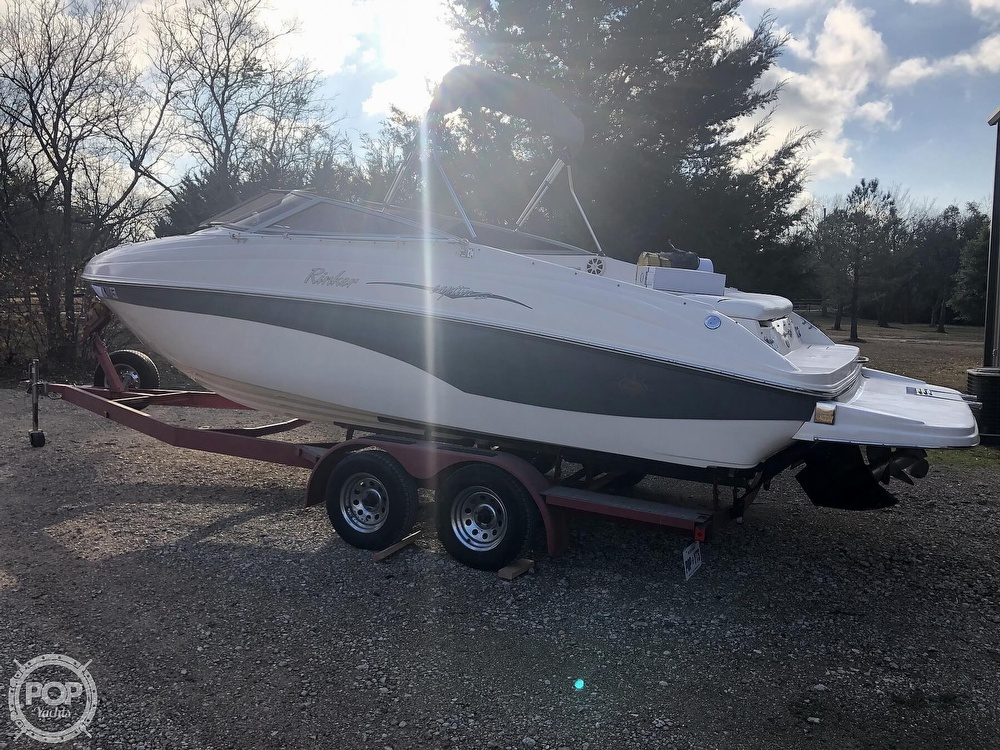 2003 Rinker boat for sale, model of the boat is Captiva 232 & Image # 16 of 40