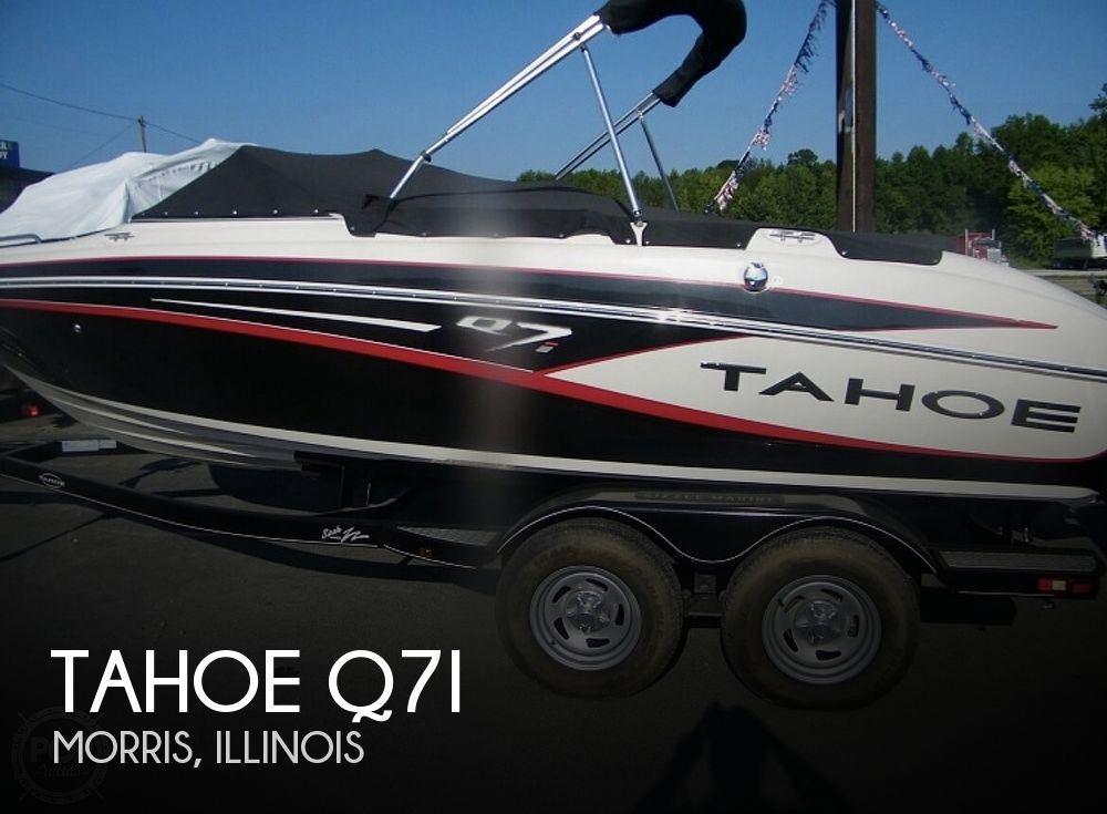 2014 Tahoe boat for sale, model of the boat is Q7i & Image # 1 of 9