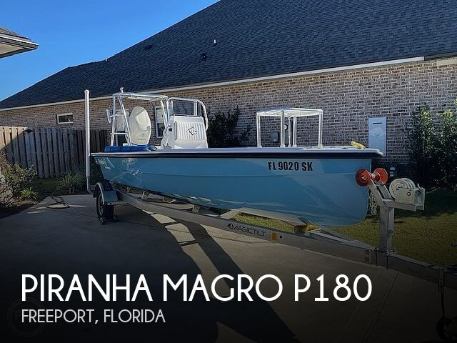 Used Boats For Sale in Dothan, Alabama by owner | 2019 Piranha Magro P180