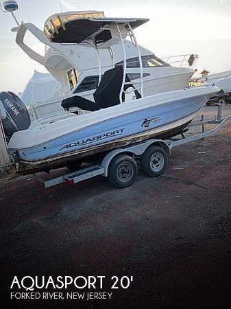 Used Aquasport Boats For Sale by owner | 2003 20 foot Aquasport Tournament Master