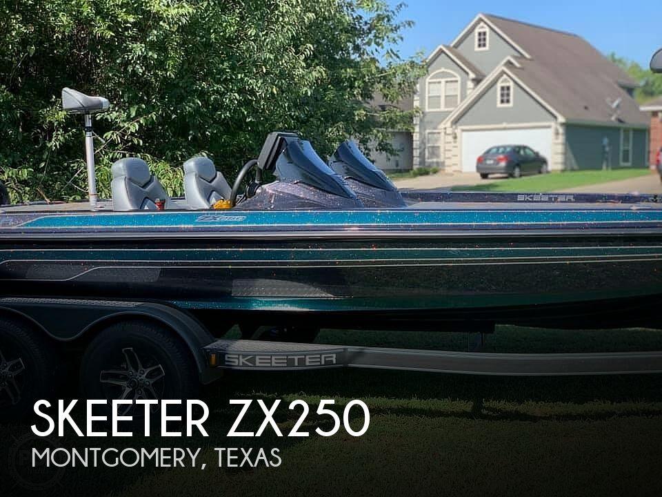 Used Skeeter Boats For Sale in Texas by owner | 2020 Skeeter ZX250