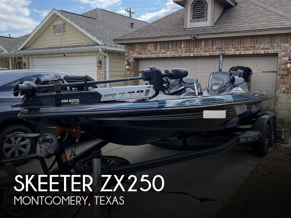 2020 Skeeter boat for sale, model of the boat is ZX250 & Image # 1 of 40