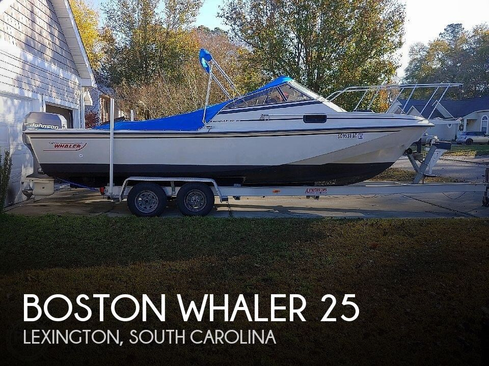 Used Boston Whaler 25 Boats For Sale by owner | 1989 Boston Whaler 25 revenge wt
