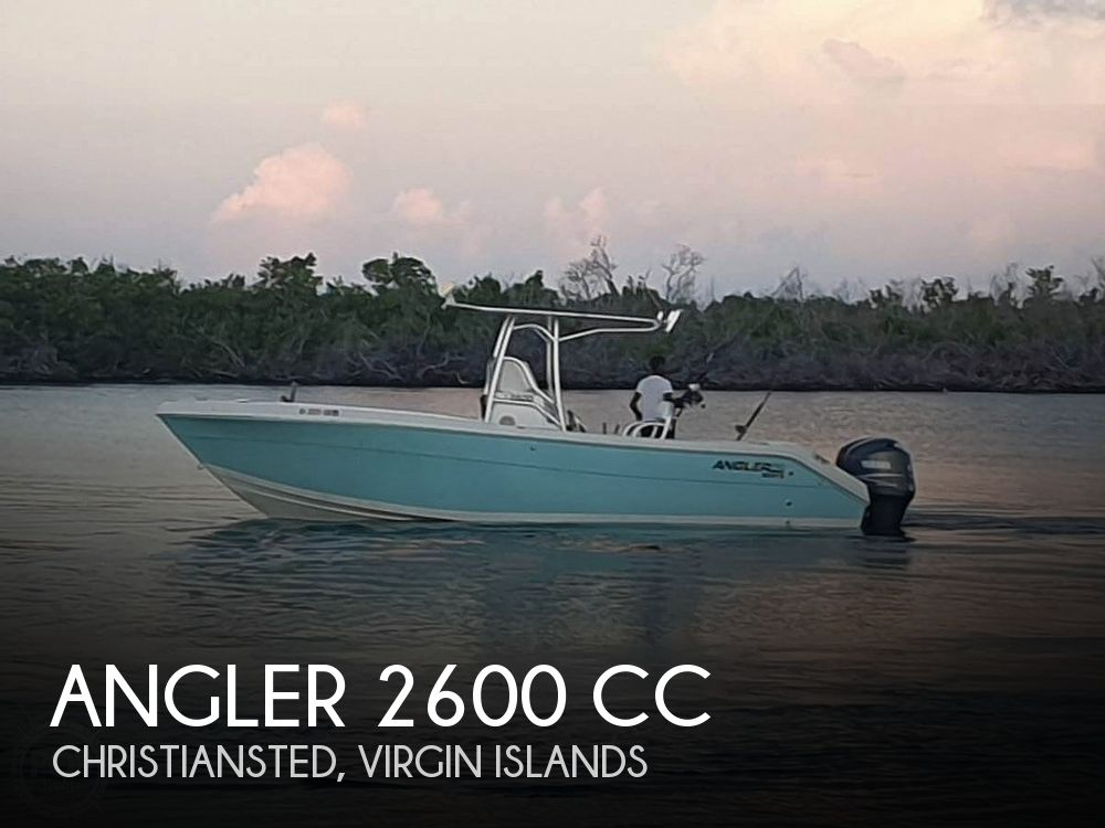 Used Angler Boats For Sale by owner | 2005 Angler 2600CC