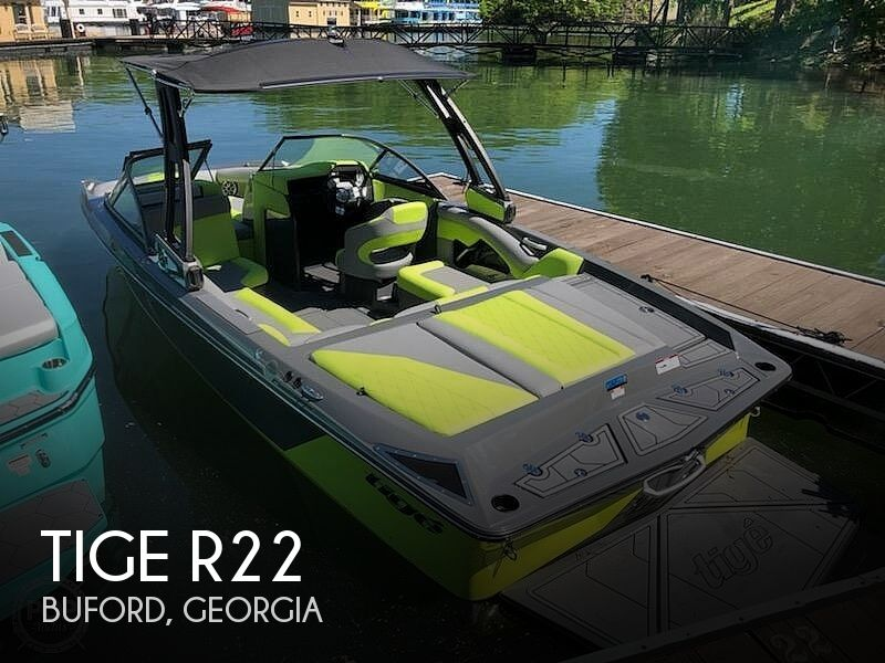 Used Ski Boats For Sale in Georgia by owner | 2019 Tige R22