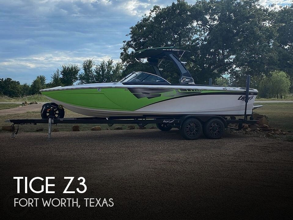 Used Ski Boats For Sale in Texas by owner | 2017 Tige Z3