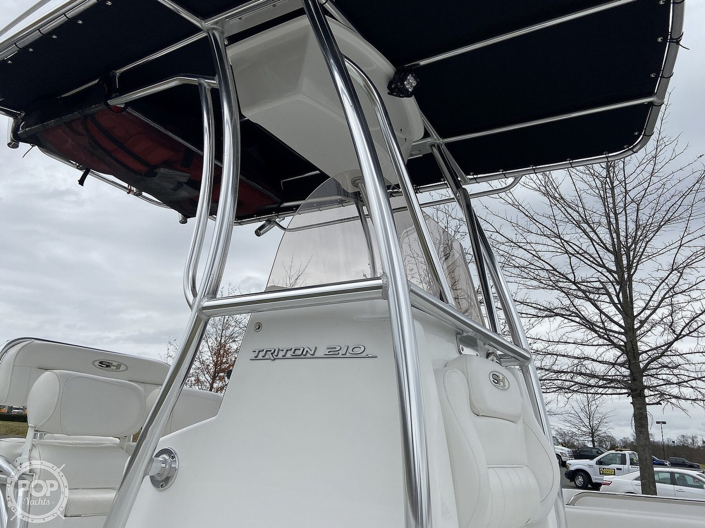 2017 Sea Hunt boat for sale, model of the boat is 210 Triton & Image # 14 of 40