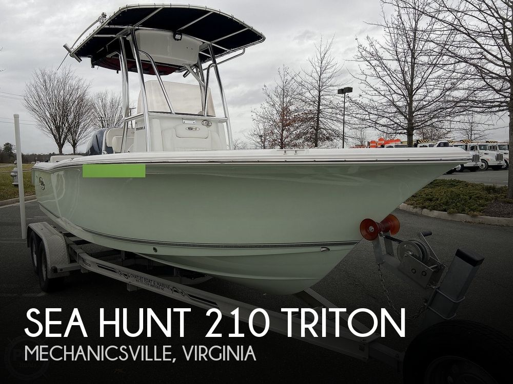 2017 Sea Hunt boat for sale, model of the boat is 210 Triton & Image # 1 of 40