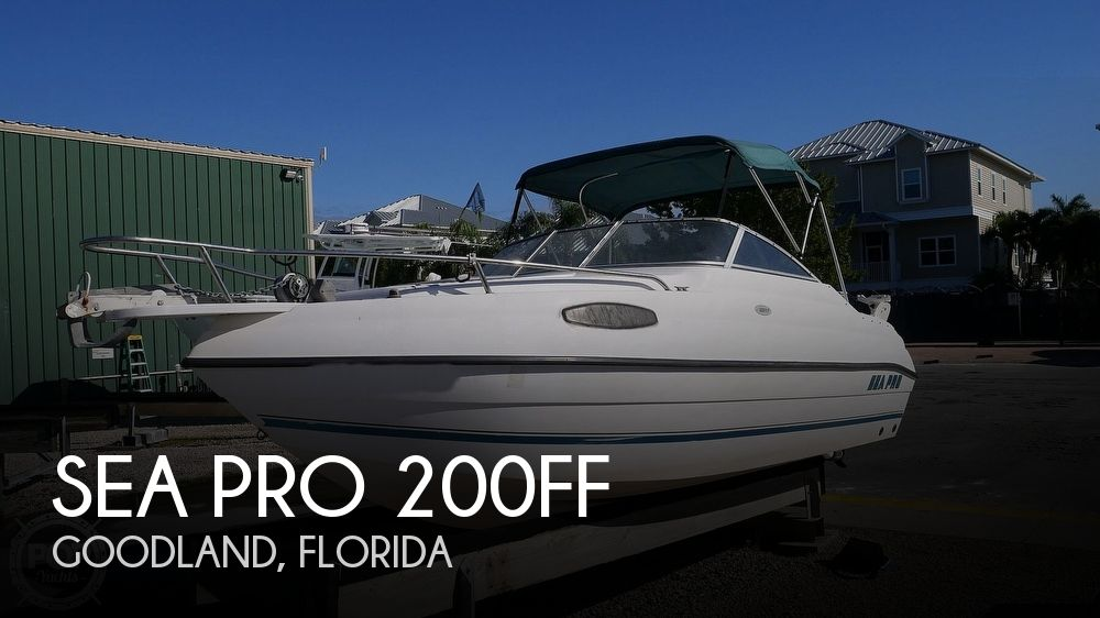 2002 Sea Pro boat for sale, model of the boat is 200FF & Image # 1 of 40
