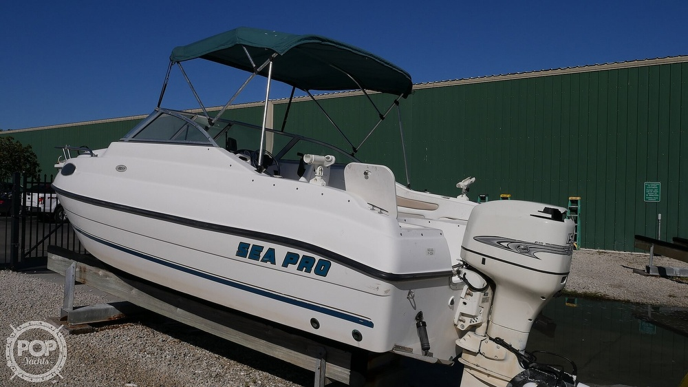 2002 Sea Pro boat for sale, model of the boat is 200FF & Image # 4 of 40
