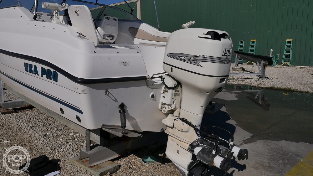 2002 Sea Pro boat for sale, model of the boat is 200FF & Image # 18 of 40