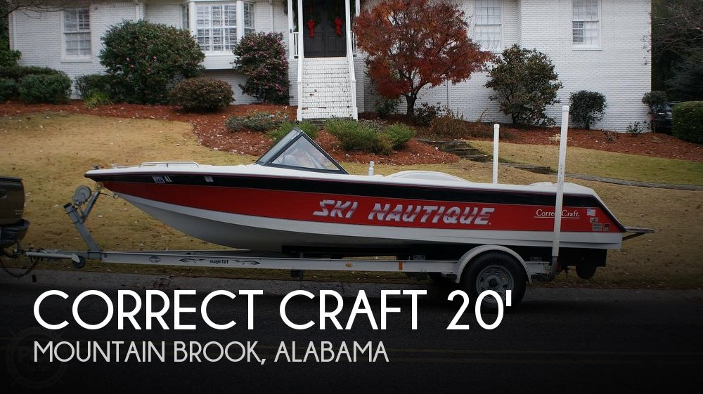 1992 Correct Craft boat for sale, model of the boat is Ski Nautique Open Bow & Image # 1 of 40