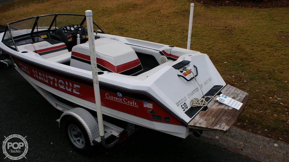 1992 Correct Craft boat for sale, model of the boat is Ski Nautique Open Bow & Image # 39 of 40