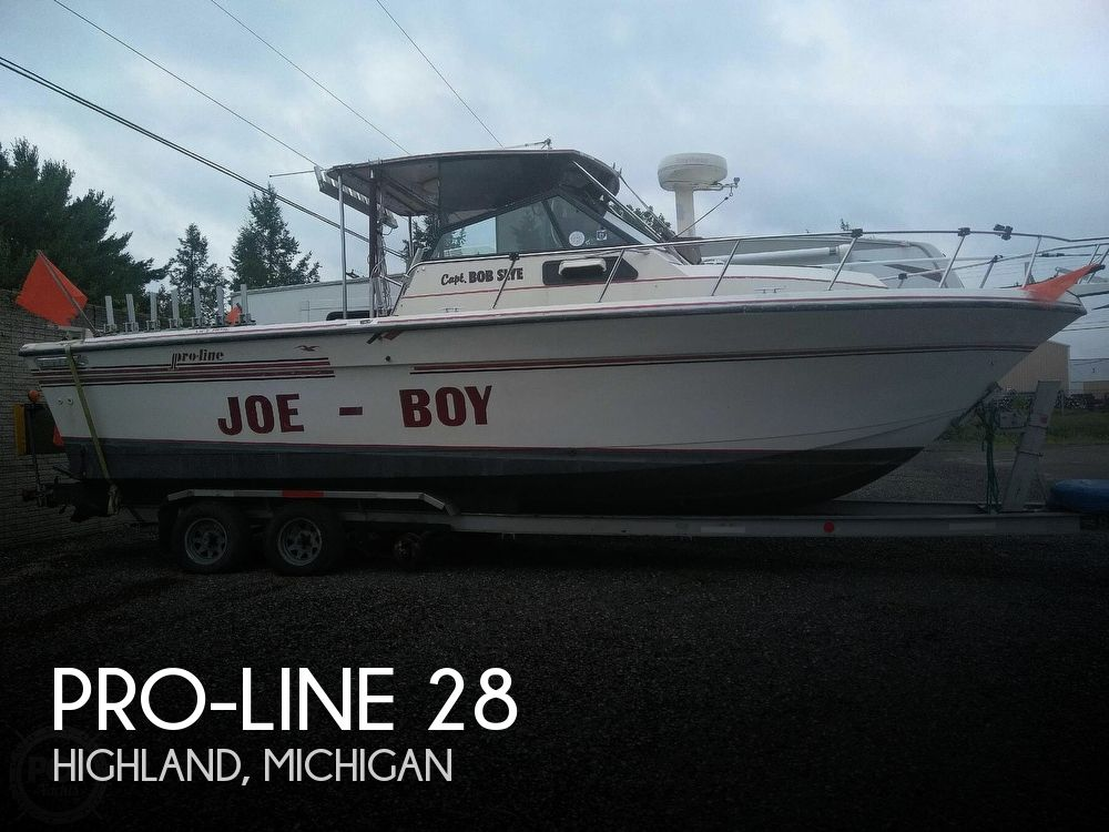 Used Pro-Line Boats For Sale in Michigan by owner | 1990 Pro-Line 28