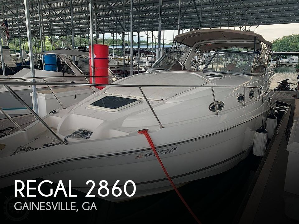 Used Regal 28 Boats For Sale by owner | 2005 Regal 2860