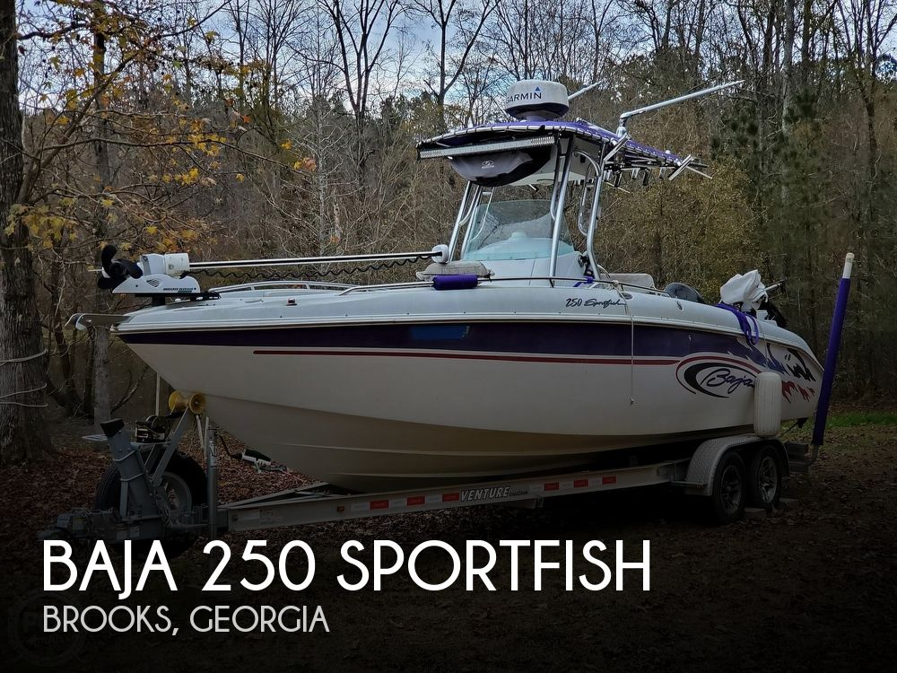 2003 Baja boat for sale, model of the boat is 250 Sportfish & Image # 1 of 40